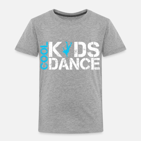 Break Dance T-Shirts - Cool kids dance vintage - Kids' Premium T-Shirt heather grey