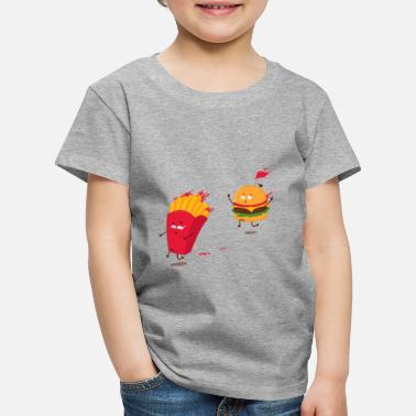Food Collection V2 Love story - Kids' Premium T-Shirt