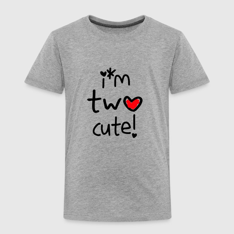 I'm two cute  - Kinder Premium T-Shirt