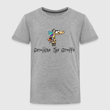 Geraldine the Giraffe Grey T-Shirt - Kids' Premium T-Shirt