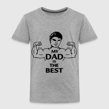 My Dad is the Best (2c) - Børne premium T-shirt