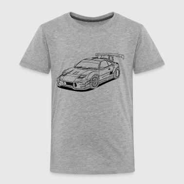 JDM Car Outlines - Premium T-skjorte for barn