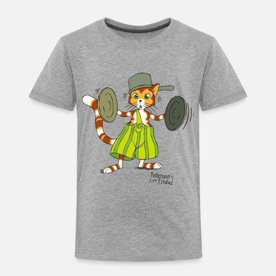 Pettersson Und Findus Topfdeckel Schlagzeug Kinder T-Shirt