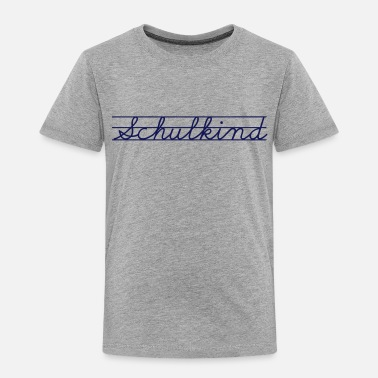 Schulkind Schulkind - Kinder Premium T-Shirt