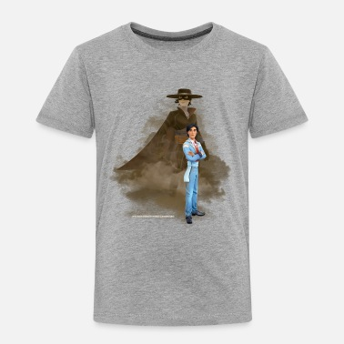 Zorro The Chronicles Don Diego Double Life - Premium T-shirt barn