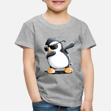Dabbing Penguin - Dab Dance - Cool - Comic - Leuk - Kinderen premium T-shirt
