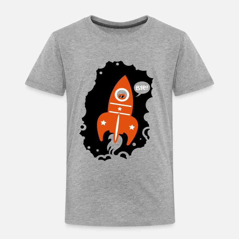 Bestsellers Q4 2018 T-Shirts - Rocket launcher - Kids' Premium T-Shirt heather grey