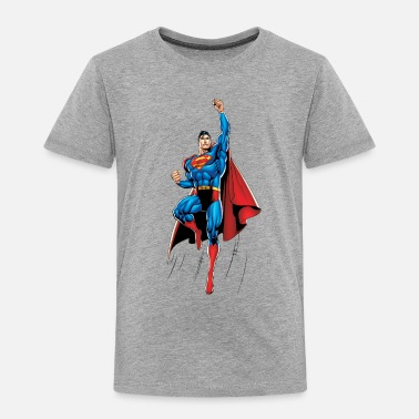 Superman Superman Up and Away Teenager Longsleeve - Premium T-shirt til børn