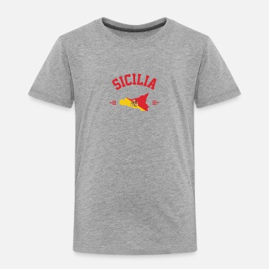 Sicily in your heart - Kids' Premium T-Shirt