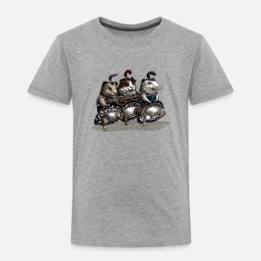 Can Can-can Guinea Pigs - Kids' Premium T-Shirt