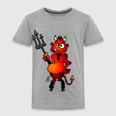 Diable rouge gras - T-shirt Premium Enfant