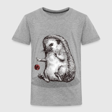hedgehog - Kinder Premium T-Shirt
