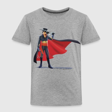 Zorro The Chronicles With Sword And Whip - Kids' Premium T-Shirt