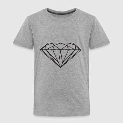 diamant - Premium T-skjorte for barn