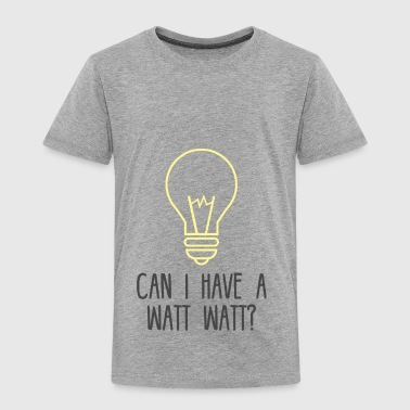 Elektriker: Can i have a Watt Watt? - Kinder Premium T-Shirt