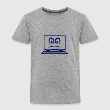 ordinateur portable computer smiley - T-shirt Premium Enfant