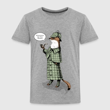 Stoat Detective - quote - T-shirt Premium Enfant