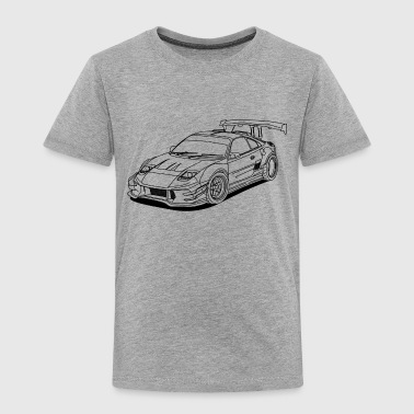 JDM Car Outlines - Kids' Premium T-Shirt
