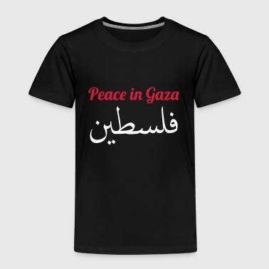 Peace in Gaza - Premium T-skjorte for barn