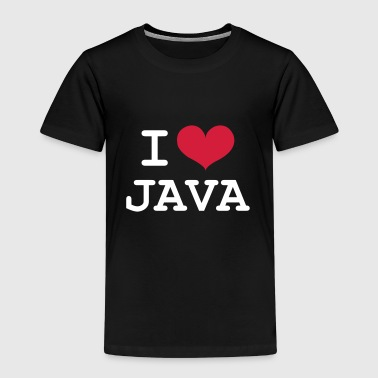 I Love Java [Developer / Geek] - Camiseta premium niño