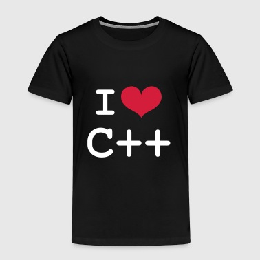 I Love C++ [Developer / Geek] - Camiseta premium niño