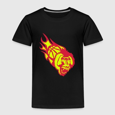 basket singe hurle monkey basketball - T-shirt Premium Enfant