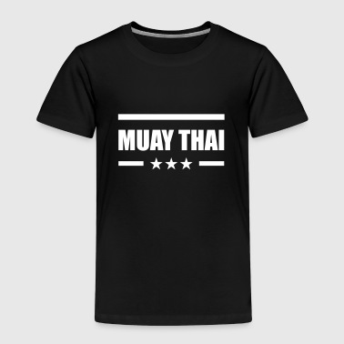 Muay Thai - Premium T-skjorte for barn