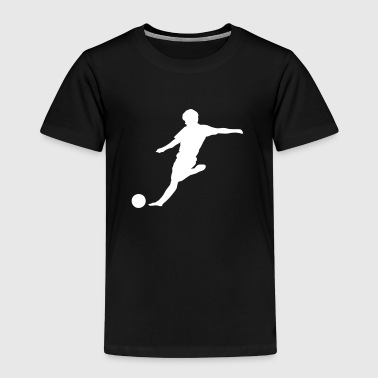 player soccer player silhouette - Kids' Premium T-Shirt