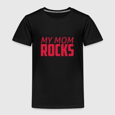 my mom rocks - Kinderen Premium T-shirt