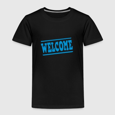 Welcome panel - Kids' Premium T-Shirt