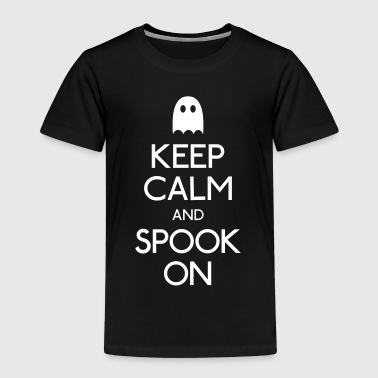 keep calm spook mantener calma fantasma - Camiseta premium niño