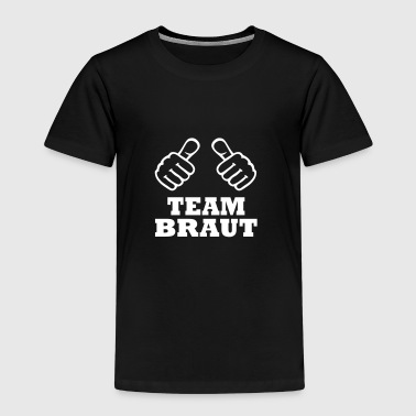 Team Braut - Kinder Premium T-Shirt