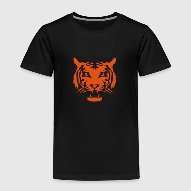tigre tete animal sauvage 3107 - T-shirt Premium Enfant
