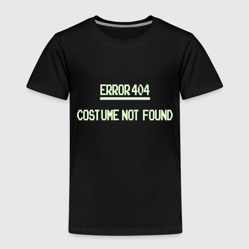 Error 404 Costume Not Found patjila_2014 - Kinderen Premium T-shirt