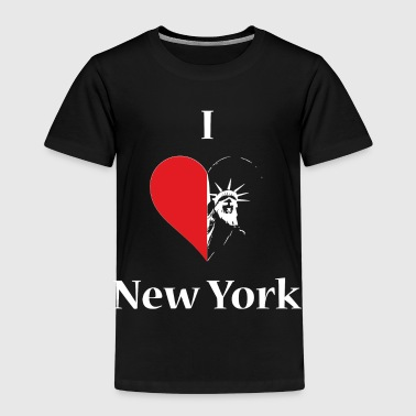 I love NY - Kinder Premium T-Shirt
