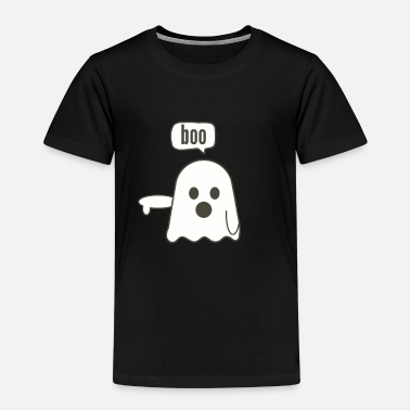disappointed ghost boo - Kids' Premium T-Shirt