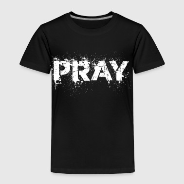 Pray distressed - Kids' Premium T-Shirt