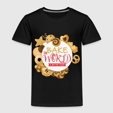Back Welt Bäckerei Backen Bäcker - Kinder Premium T-Shirt