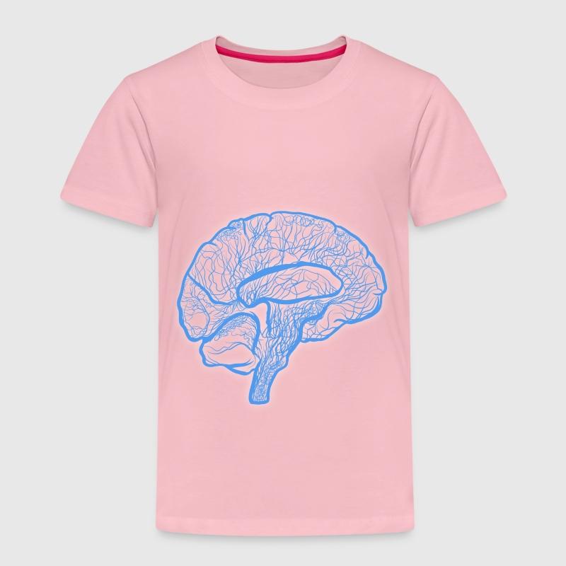 Gehirnbiologie-Neurologie der menschlichen Anatomie des Vintagen ...