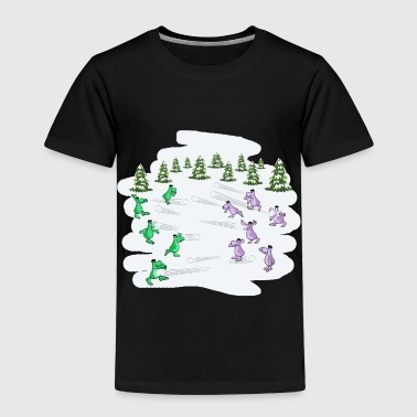 Snowball fight - Kids' Premium T-Shirt