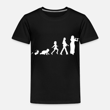 Flute Flute Fun Shirt Gifts Grow Evolution - Kids' Premium T-Shirt