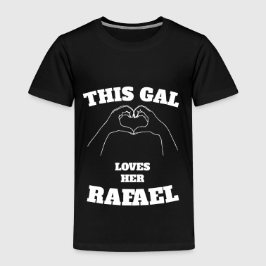 This Gal Loves Her Rafael Valentine Day Gift - Kids' Premium T-Shirt
