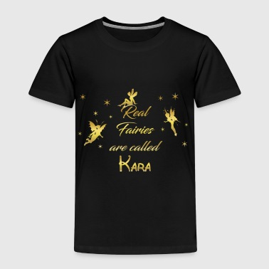 fee fairies fairy vorname name Kara - Kinder Premium T-Shirt