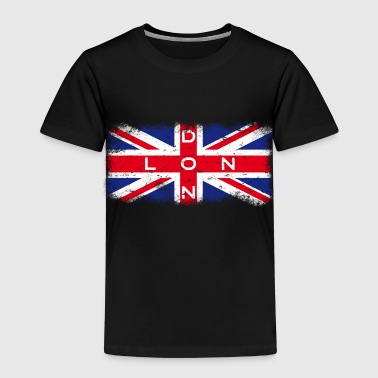 London Union Jack Vintage - Premium-T-shirt barn