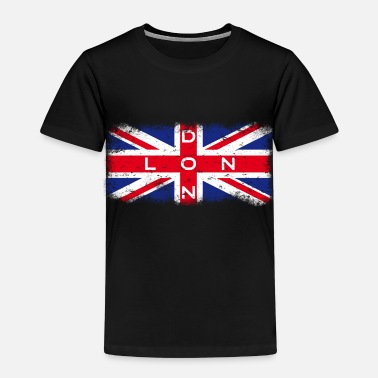 Britse Vlag London Union Jack Vintage - Kinderen Premium T-shirt
