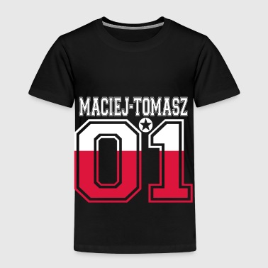 POLEN POLSKA 01 KING QUEEN BIRTHDAY Maciej Tomasz - Kinder Premium T-Shirt