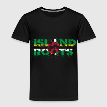 Dominica roots - Kids' Premium T-Shirt