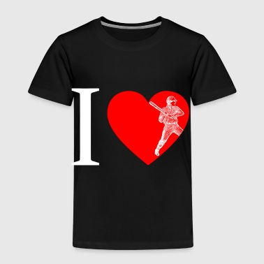 I love baseball, baseball - Kids' Premium T-Shirt