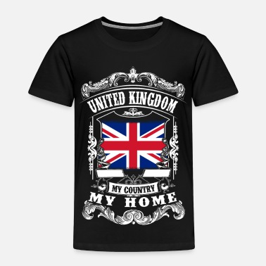 London United Kingdom - My country - My home - Premium-T-shirt barn