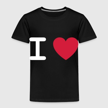 I Love... - Kids' Premium T-Shirt